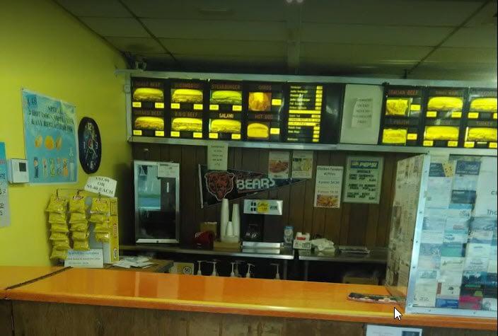 Our Restaurant: Sandwich Castle Inside