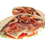Ham on Pita
